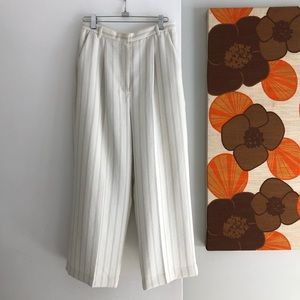Aritzia Wilfred Cropped High Rise Pants Size 6